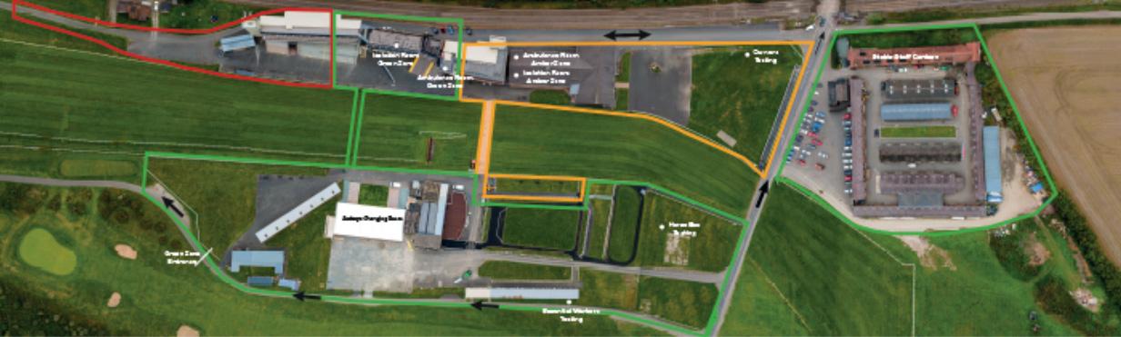 Ludlow Overhead Panorama Map